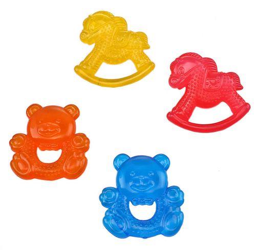 Курносики Прорезыватель с водой Любимые игрушки, в ассортименте, 1шт.