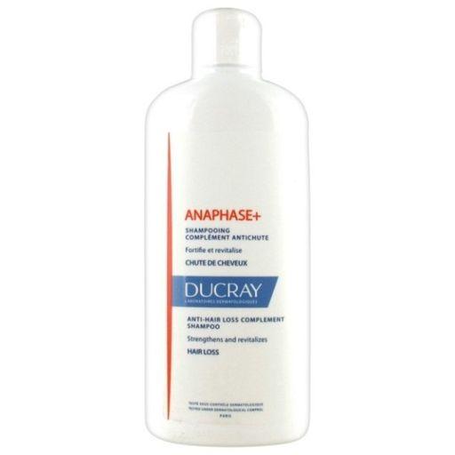 Ducray Anaphase+ шампунь стимулирующий, шампунь, для ослабленных, выпадающих волос, 400 мл, 1шт.