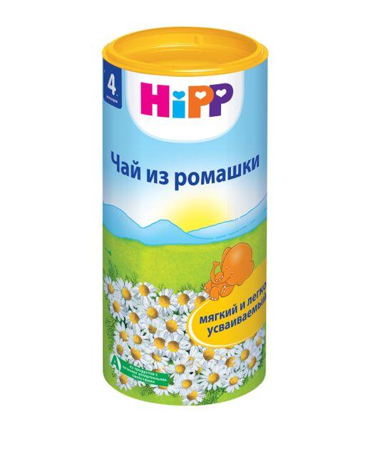 Чай Hipp ромашковый, чай быстрорастворимый, 200 г, 1шт.