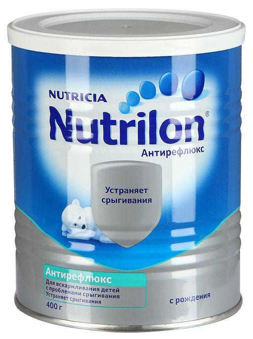 Nutrilon Антирефлюкс с нуклеотидами, смесь молочная сухая, 400 г, 1шт.