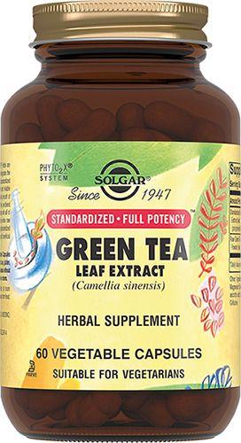 Solgar Экстракт листьев зеленого чая, капсулы, 60шт.