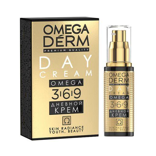 Omegaderm Omega 3,6,9 Дневной крем Интенсивное увлажнение, крем для лица, 50 мл, 1шт.