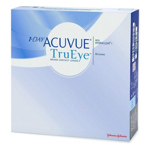 1-Day Acuvue TruEye Линзы контактные Однодневные, BC=8,5 d=14,2, D(-3.50), стерильно, 90шт.