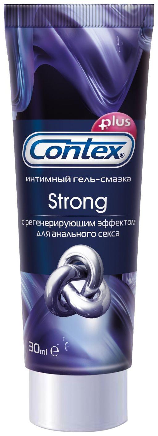 Гель-смазка Contex Strong, гель, с регенерирующим эффектом, 30 мл, 1шт.