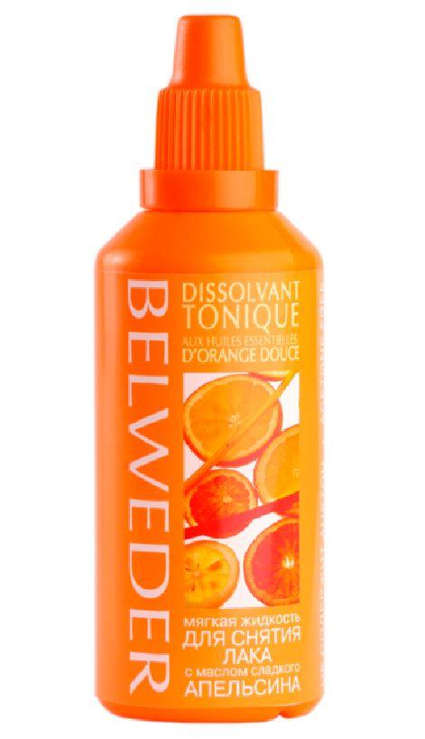 Belweder Жидкость для снятия лака мягкая с маслом сладкого апельсина, жидкость для снятия лака, 60 мл, 1шт.