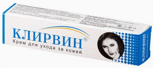 Клирвин крем для ухода за кожей, крем, 25 г, 1шт.