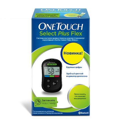 Глюкометр One Touch Select Plus Flex, 1шт.