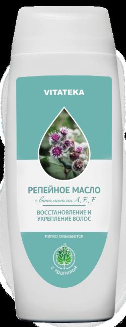 Витатека Репейное масло с крапивой, масло косметическое, 100 мл, 1шт.