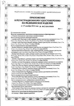 Peha-haft Бинт самофиксирующийся сертификат