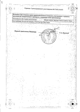 Дифлюкан сертификат