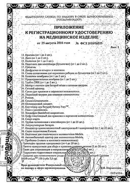 Medela Молокоотсос электрический Мини сертификат